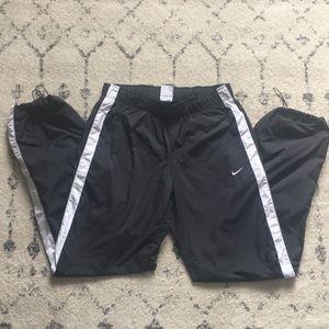 Nike Small Black White Windrunner Pants